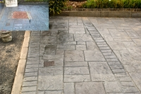 Pattern Imprinted Concrete reinstatement